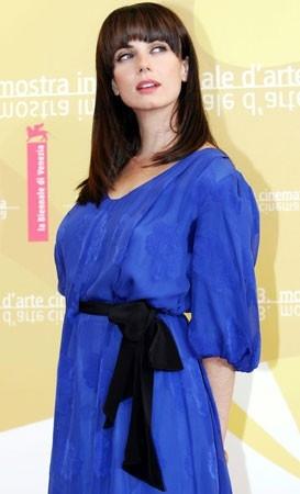 L'attrice Mia Kirshner a Venezia 2006 per presentare The Black Dahlia
