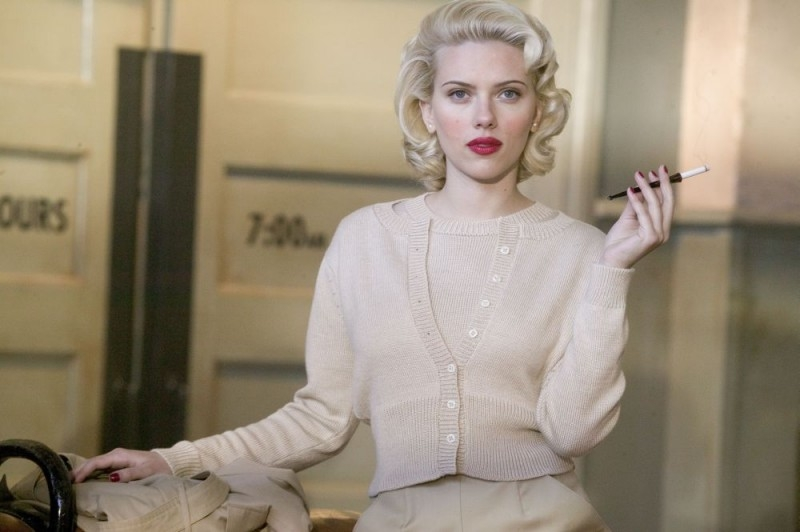 Scarlett Johansson in una scena di The Black Dahlia, del 2006