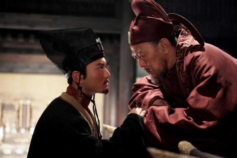 Huang Xiaoming e Ma Jingwu in una scena del film The Banquet