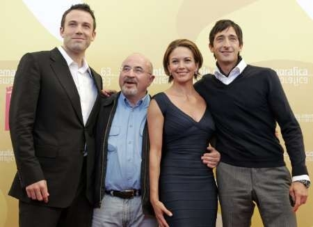 Il cast di Hollywoodland a Venezia 2006