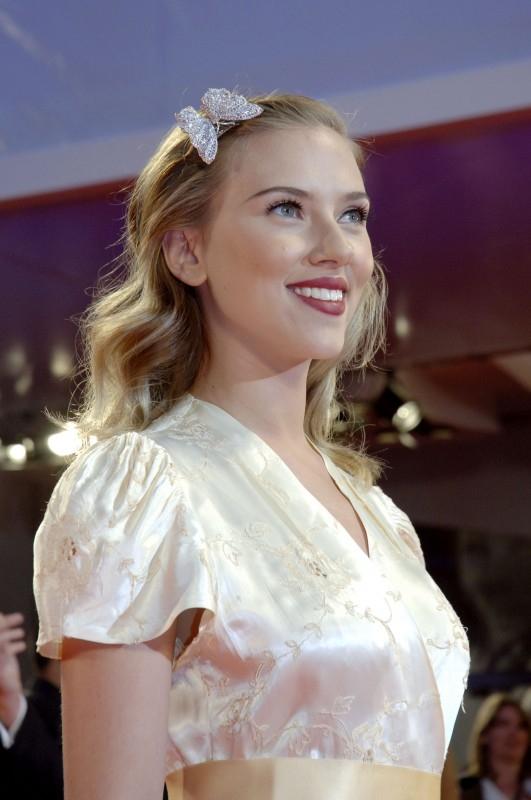Scarlett Johansson a Venezia 2006 per presentare The Black Dahlia