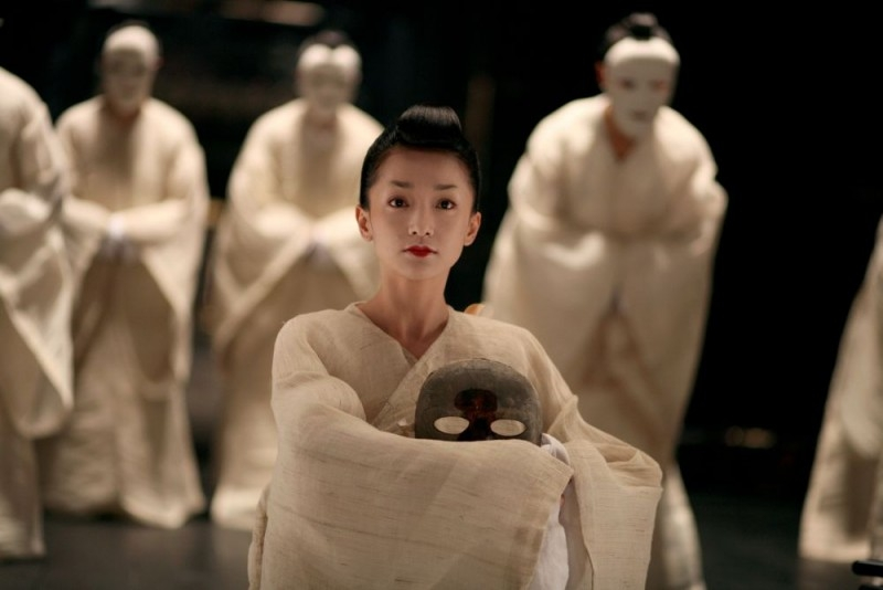 Una suggestiva scena di The Banquet, con Zhou Xun