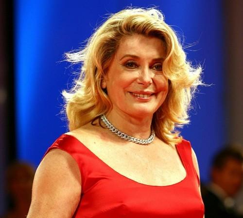 Catherine Deneuve, giurata a Venezia 2006