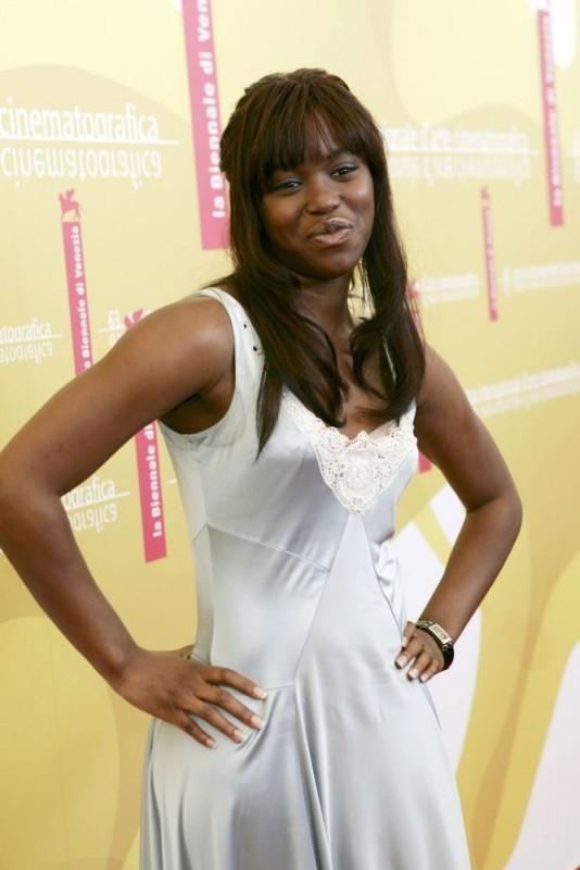Claire-Hope Ashitey a Venezia 2006 per presentare il film I figli degli uomini