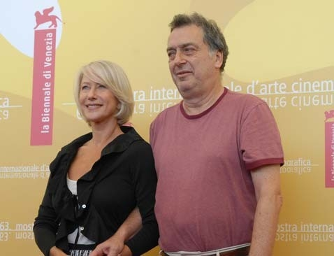 Helen Mirren e Stephen Frears a Venezia 2006 per presentare The Queen
