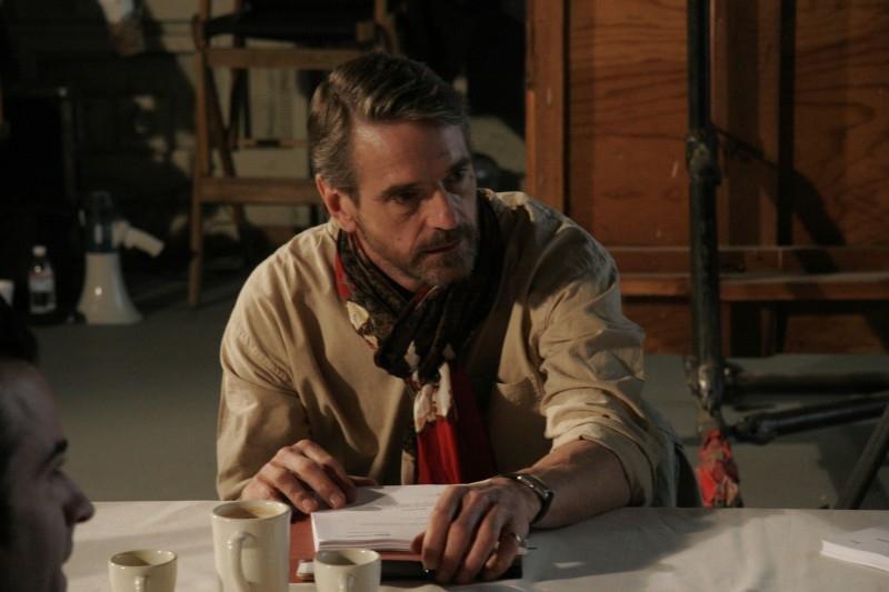 Jeremy Irons in una sequenza di Inland Empire