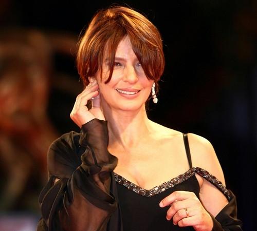 Laura Morante a Venezia 2006 per presentare il film Private Fears in Public Places