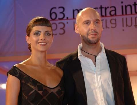 Macarena Gómez e Jaume Balagueró a Venezia 2006 per presentare Para entrar a vivir