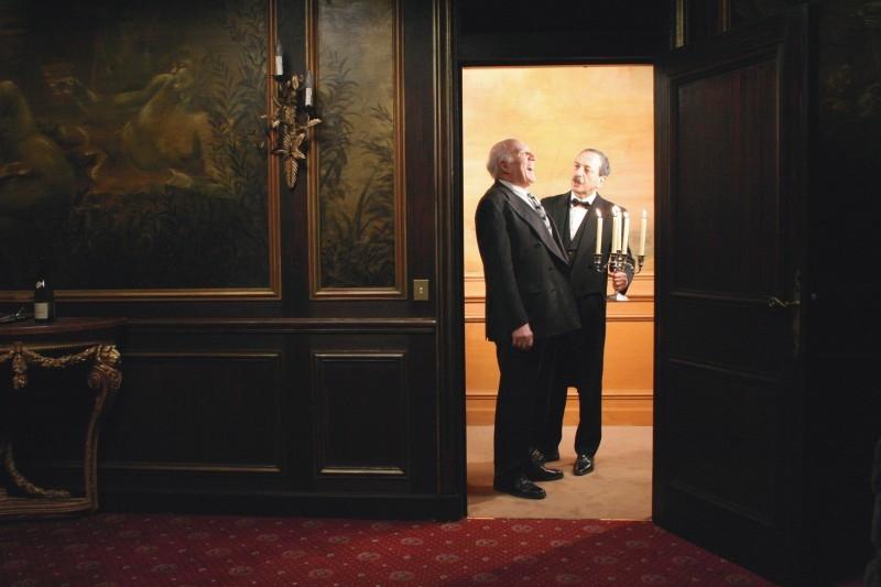 Michel Piccoli in una scena di Belle toujours - Bella sempre