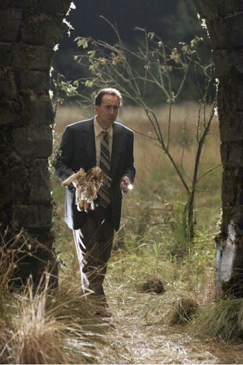 Nicolas Cage in una scena del film The Wicker Man