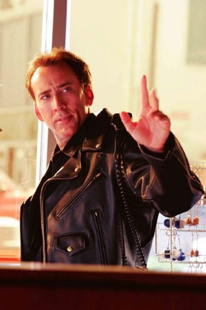 Nicolas Cage in una immagine del film The Wicker Man