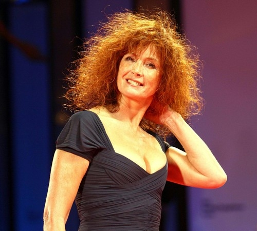 Sabine Azema a Venezia 2006 per presentare il film Private Fears in Public Places