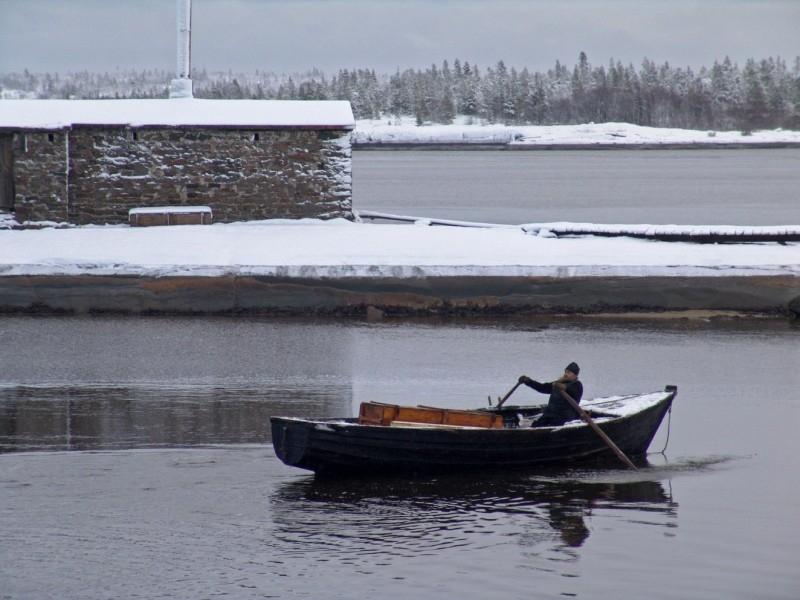 Una scena del film L'isola - Ostrov