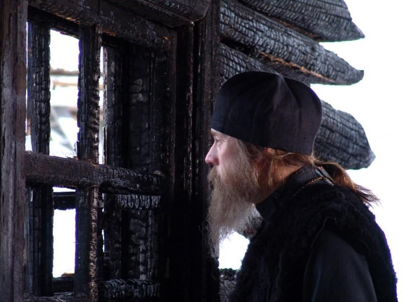 Una scena del film russo Ostrov