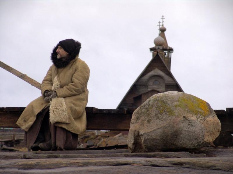 Una scena tratta dal film Ostrov