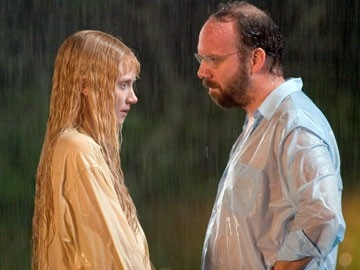 Bryce Dallas Howard e Paul Giamatti in una scena di Lady in the Water (2006)