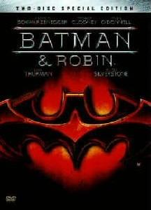 La copertina DVD di Batman & Robin - Edizione Speciale