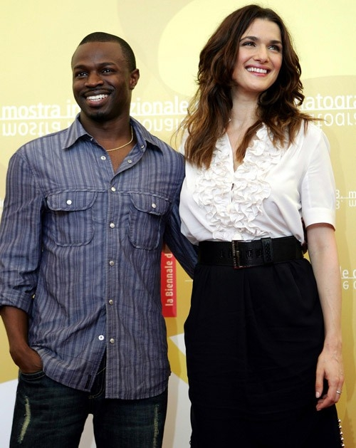 Sean Patrick Thomas e Rachel Weisz a Venezia 2006 per il film The Fountain