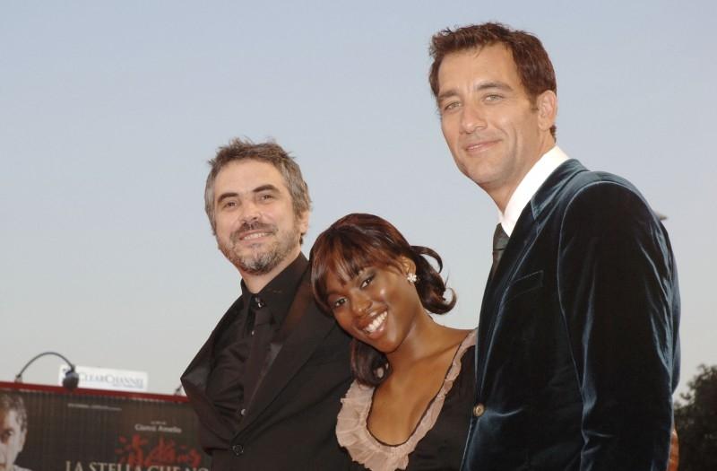 Venezia 2006: Alfonso Cuaron con Claire-Hope Ashitey e Clive Owen