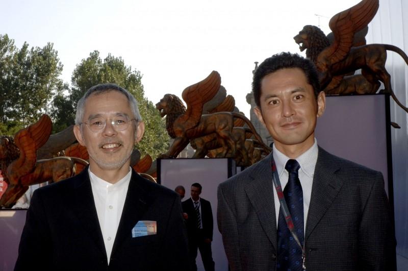 Venezia 2006: il Produttore Suzuki Toshio e il regista Goro Miyazaki