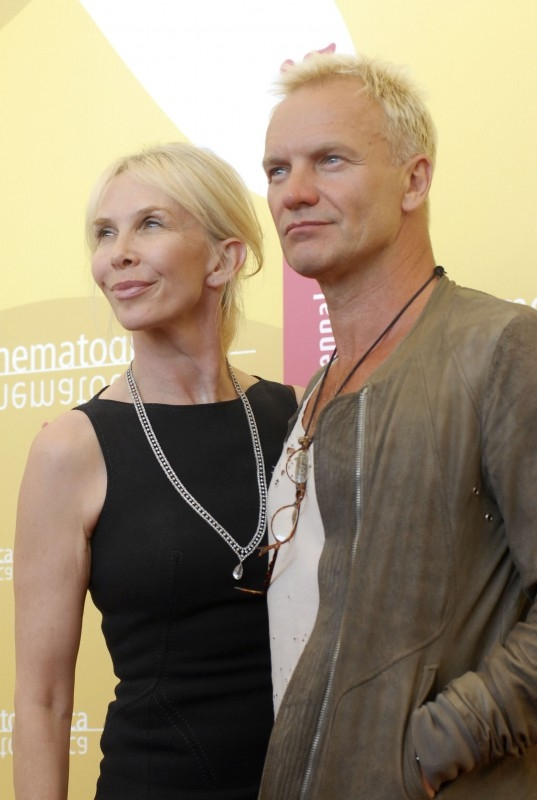 Venezia 2006: Trudie Styler e suo marito Sting presentano 'A guide to recognizing your saints'