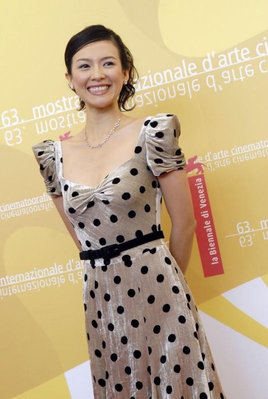 A Venezia 2006: Zhang Ziyi presenta il film The Banquet