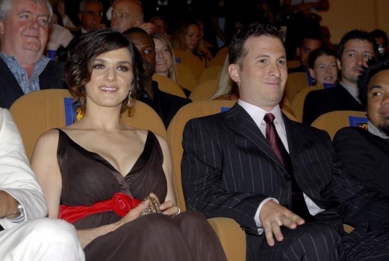 Darren Aronofsky e Rachel Weisz a Venezia 2006 per il film The Fountain