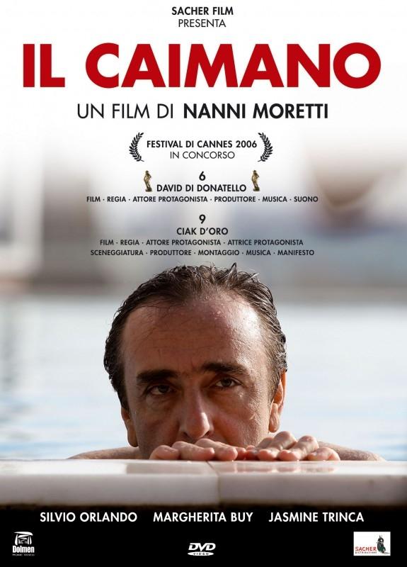La copertina DVD di Il caimano - Collector's edition