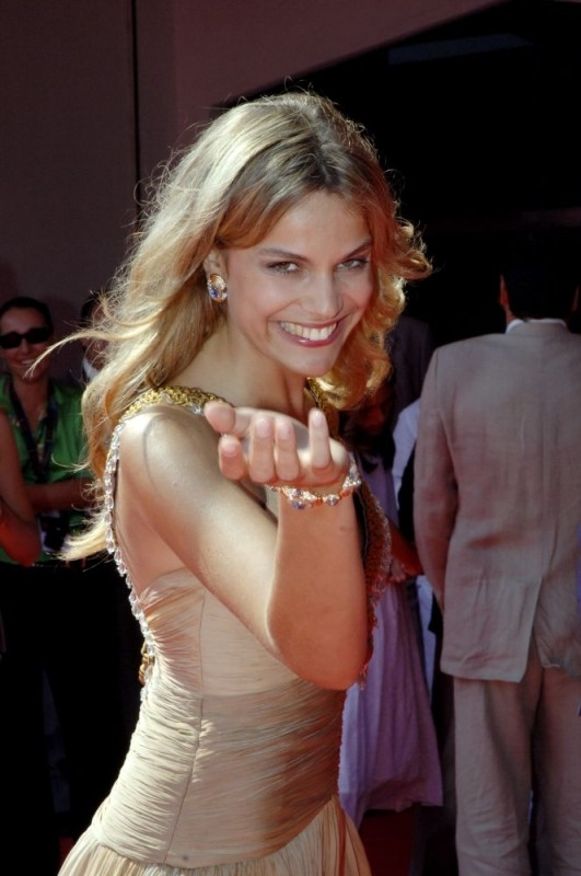 Micaela Ramazzotti a Venezia 2006 per presentare Non prendere impegni stasera
