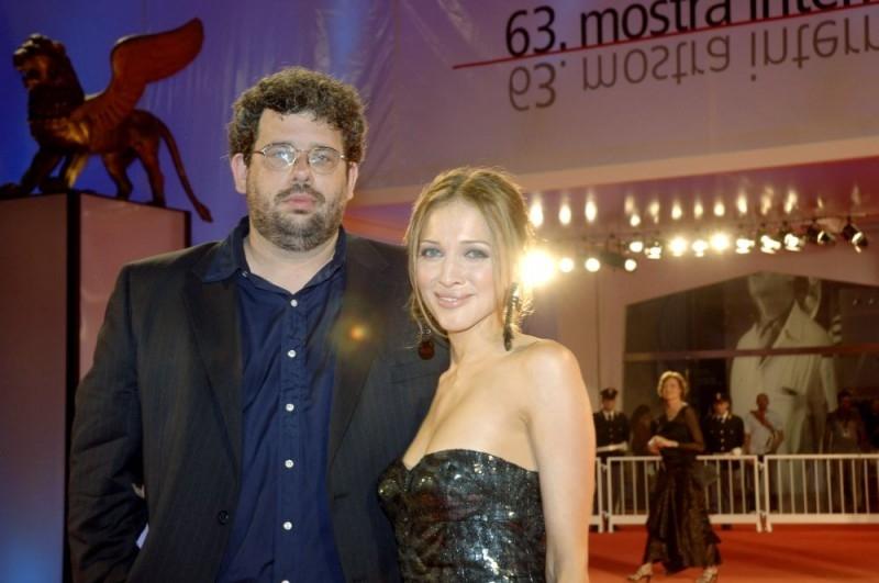 Neil LaBute e Kate Beahan a Venezia 2006 per il film The Wicker Man