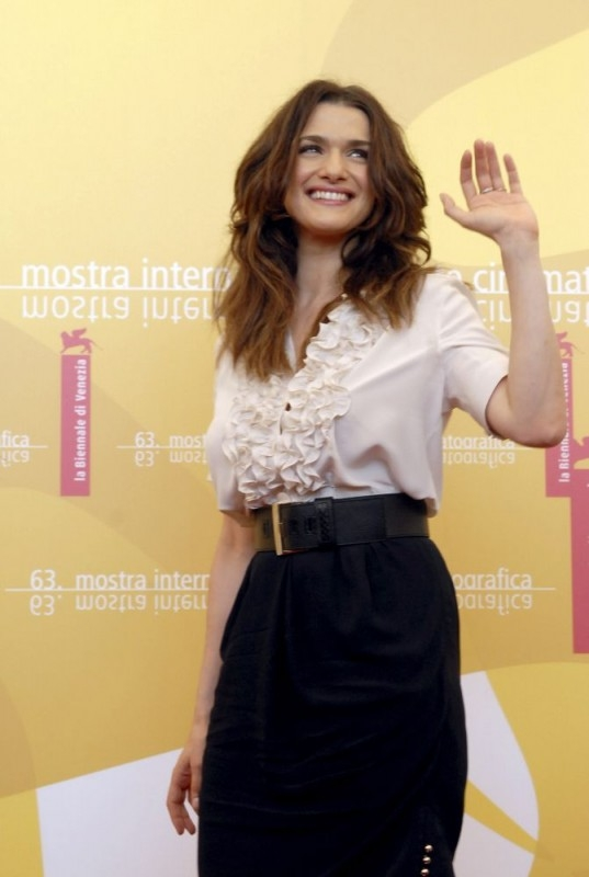 Rachel Weisz a Venezia 2006 per il film The Fountain