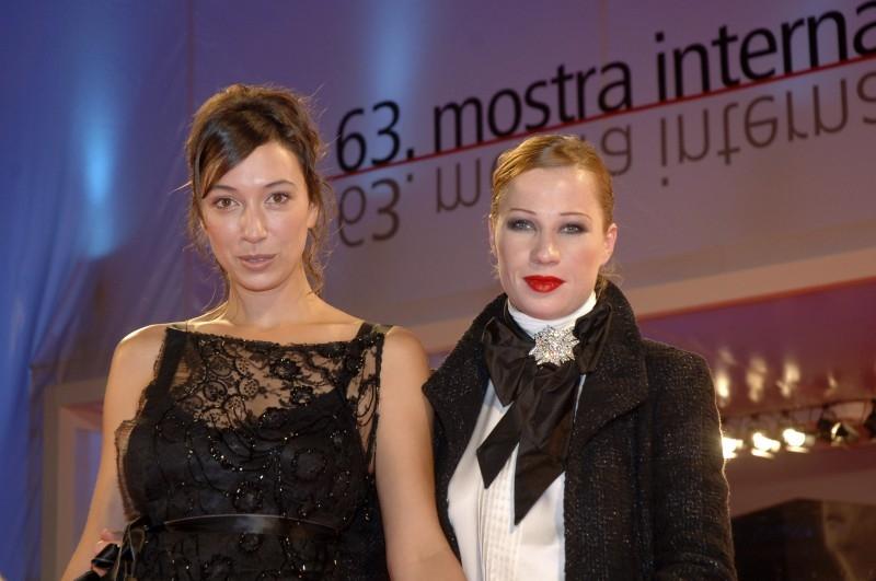 Ursula Strauss e Birgit Minichmayr a Venezia 2006 per presentare Falling