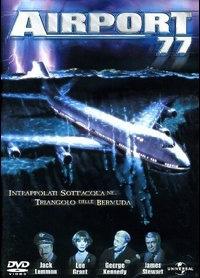 La copertina DVD di Airport 77