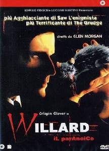La copertina DVD di Willard il Paranoico