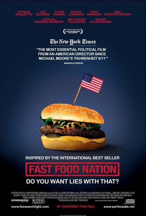 La locandina di Fast Food Nation
