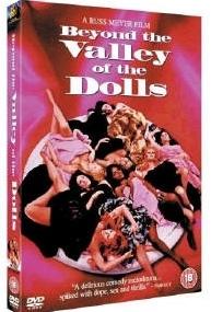 La copertina DVD di Lungo la valle delle bambole