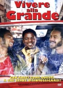 La copertina DVD di Vivere alla grande