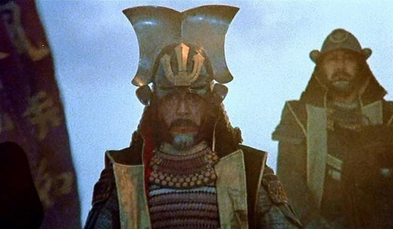 KAGEMUSHA - L'OMBRA DEL GUERRIERO: Tatsuya Nakadai in una scena del film