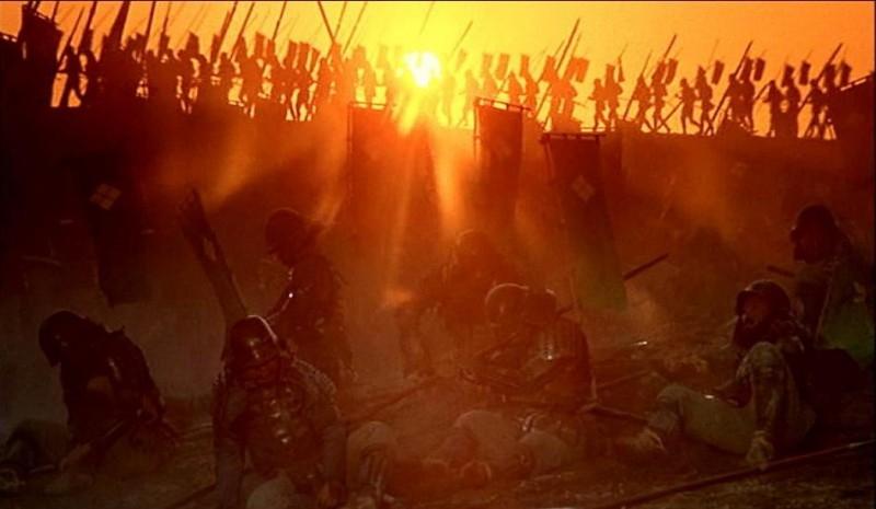 Una suggestiva scena di KAGEMUSHA - L'OMBRA DEL GUERRIERO