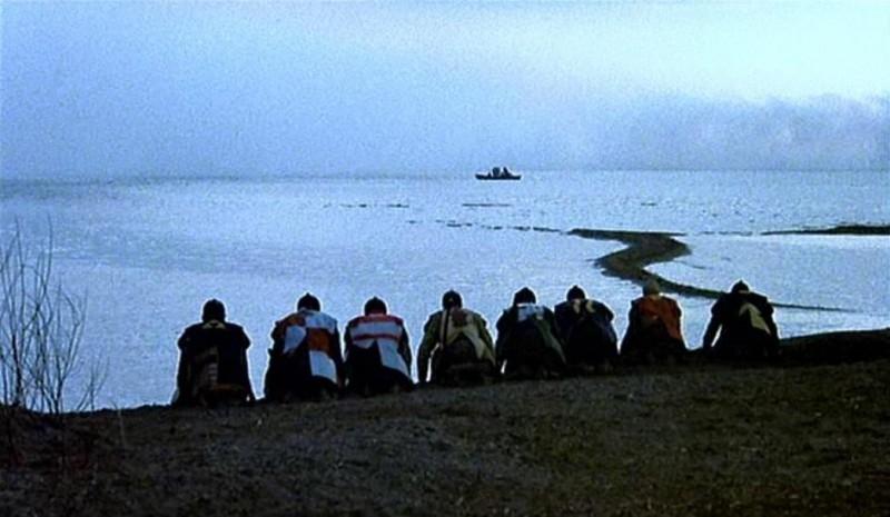 Una scena del dramma KAGEMUSHA - L'OMBRA DEL GUERRIERO