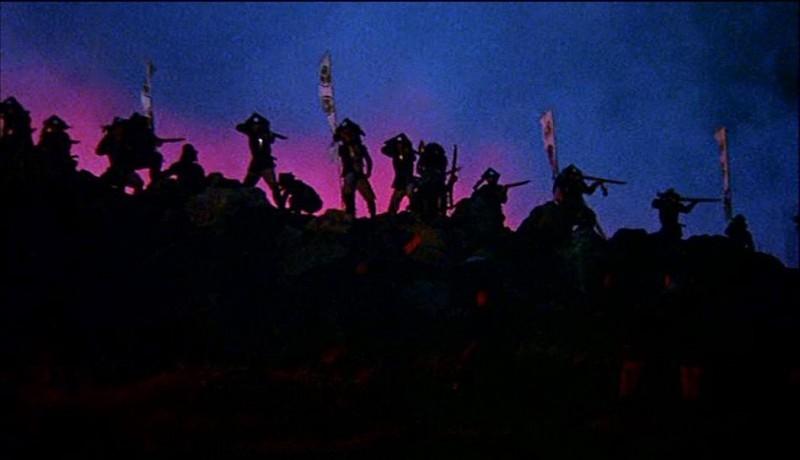 Una splendida scena di KAGEMUSHA - L'OMBRA DEL GUERRIERO