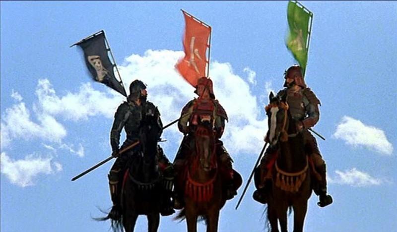 Una scena del film Kagemusha