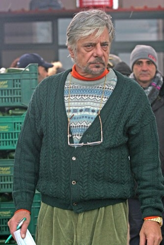 Giancarlo Giannini in una scena del film Salvatore - Questa è la vita