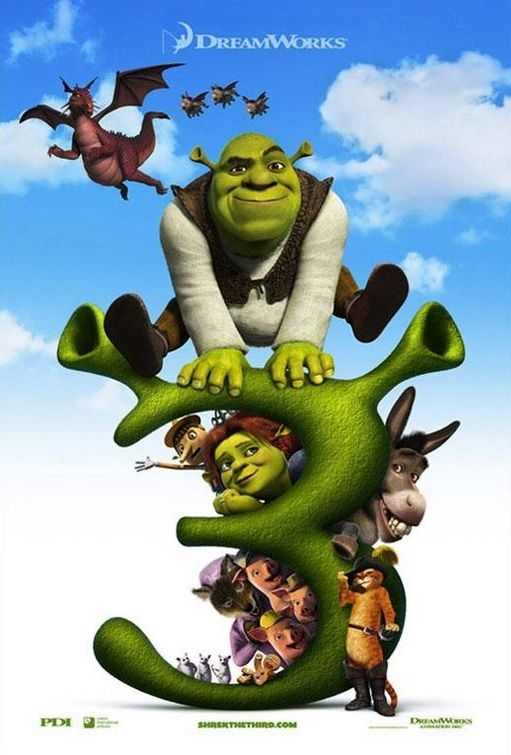 Locandina di Shrek the Third