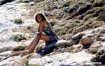 Una sensuale Valeria Golino  in una scena del film Respiro