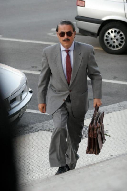 Massimo Dapporto in una scena della fiction 'Giovanni Falcone'