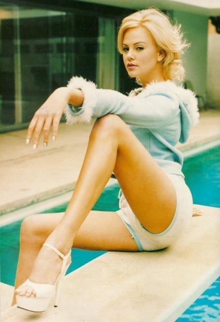 Charlize Theron... sul trampolino di lancio
