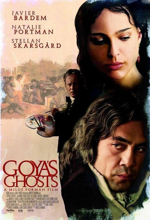 La locandina di Goya's Ghosts