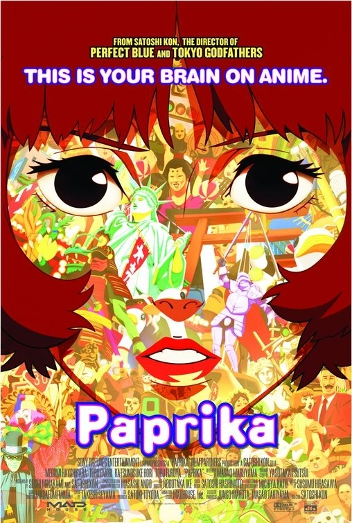 locandina di Paprika - sognando un sogno
