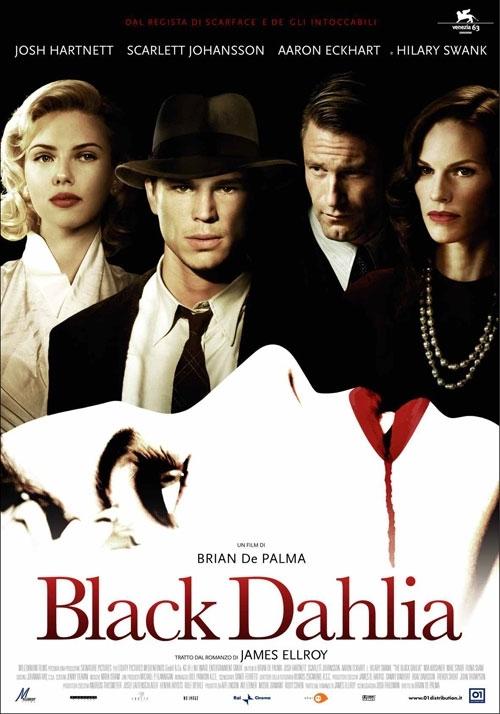 La locandina italiana di The Black Dahlia